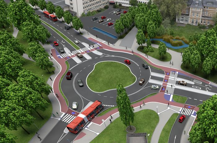 Kreisverkehr Bergisch Gladbach