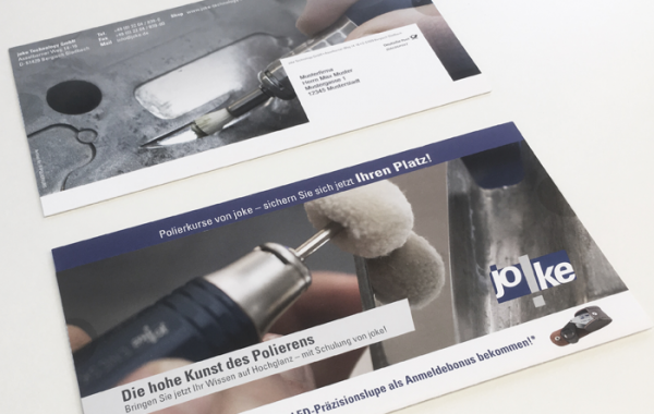 joke Technology GmbH | Oberflächen